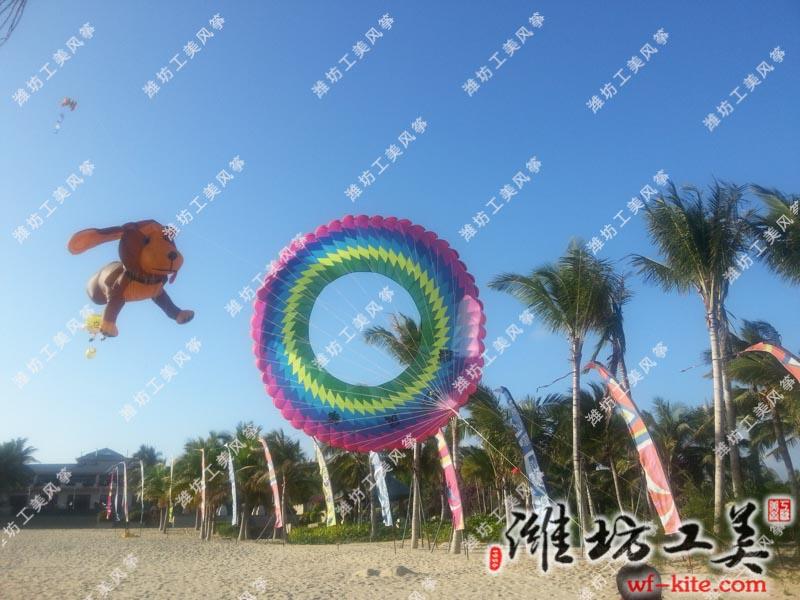 潍坊风筝协会海南清水湾风筝节