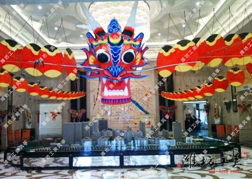 潍坊风筝厂风筝展览