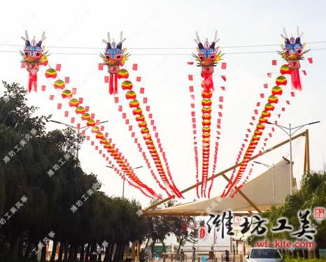 潍坊风筝大型室外展览活动