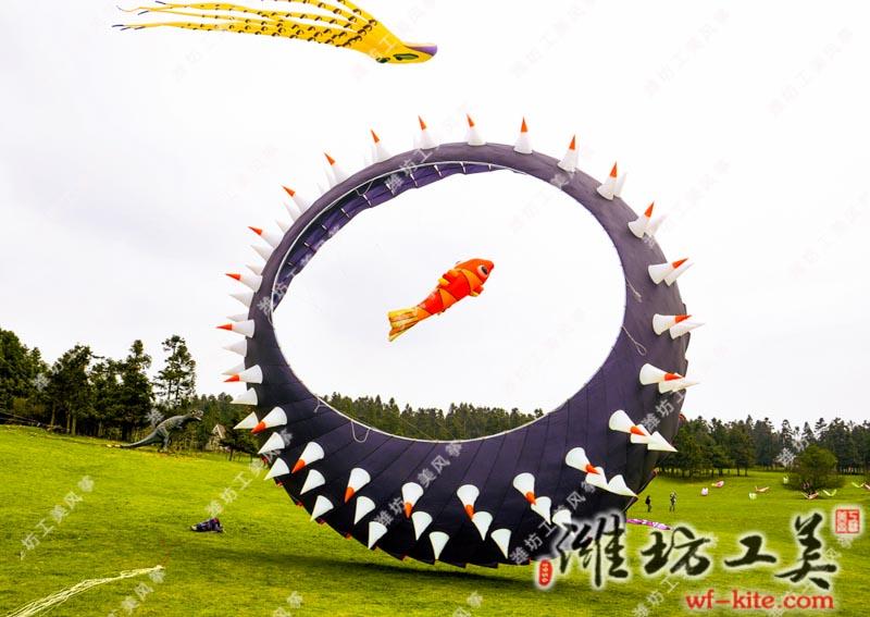 风筝比赛—潍坊风筝协会